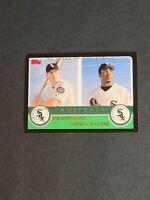 Joe Borchard Corwin Malone Chicago White Sox 2003 Topps Black #679 13/52