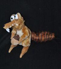 Peluche doudou écureuil Scrat gland AGE DE GLACE 2 Play By Play beige 21 cm TTBE
