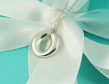 "AUTHENTIC Tiffany & Co. Sevillana Round Pendant Necklace 17"" (#830)"