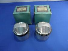 NOS Triumph 650 Pistons STD Genuine complete kit original boxes HC TR6  P4