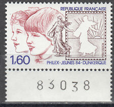 FRANCE/France Nº 2440 ** timbres Exposition Dunkerque