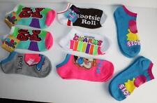 8 Pair New Planet Sox Socks Ring Pop Low Cut No Show Candy Tootsie Roll Fun