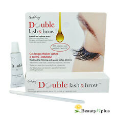 Godefroy Double Lash & Brow Treatment, For Longer and Thicker Eyelash 1oz / 3ml