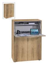 Sekretär Kommode mit integriertem Schreibtisch Mod.MJ506 Riviera Eiche