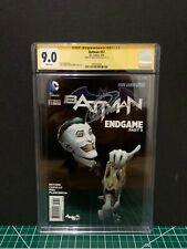 Batman 37 CGC 9.0 Signature Series Capullo signed SMALL TEAR ON BACK