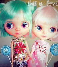 💖  🇬🇧 Blythe Basaak Doll With Pink/Green Hair & Pretty Outfit UK 🇬🇧Seller