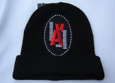 cdec239ac96 Topshop Black Beanie Hat La Embroidered