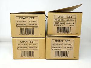 BROTHER Stamp Creator Pro SC2000 Draft Set - PRDRFTN - Lot of 4 - Open Box READ