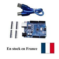 Arduino UNO R3 clone avec Cable USB ATmega328P CH340G Board Stock France