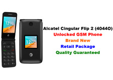 Unlocked Gsm At&T Alcatel Cingular Flip 2 4044O 4G Lte Wi-Fi KaiOs 4Gb T-Mobile