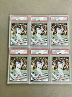 2017 Topps Update #US50 Cody Bellinger RC Rookie PSA 10 GEM MINT 🔥 Lot of 6