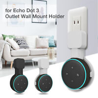 New Wall Bracket Mount For Echo Dot 3rd Generation 3 Gen Two colors