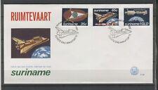 REP. SURINAME 1982  FDC E 057 SPACE BLANK