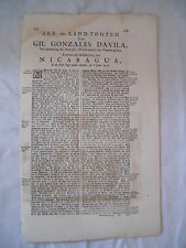 Théodore de BRY -  [Petits Voyages] - Voyage de GIL GONZALES DAVILA