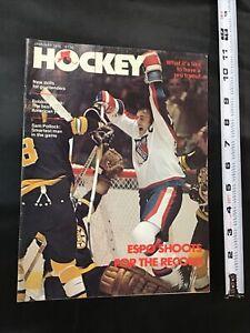 1978 Hockey Magazine Phil Esposito Shoots for Record Cover New York Rangers