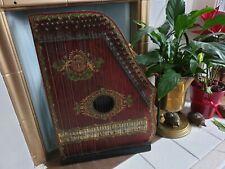 More details for antique vintage guitar mandolin banjo chord zither made in germany for austral