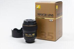Nikon AF-S NIKKOR 35mm f/1.4G Wide Angle Lens