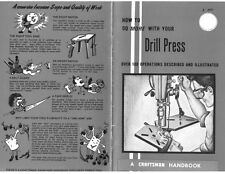 1969 Craftsman How to do more with your Drill Press Instructions