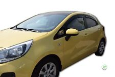 DKI20153 KIA RIO Hatchback 5 DOOR 2011-2015 WIND DEFLECTORS 4pc HEKO TINTED