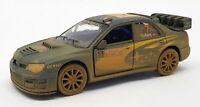 Subaru Impreza WRC 2007 Muddy - Kinsmart Pull Back & Go Metal Model Car