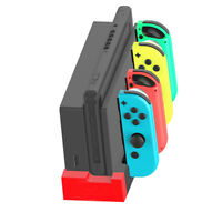 For Nintendo Switch Joy-Con Camepad Controller Charger Charging Dock Stand 4 In1