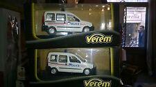 Verem  V286 Renault Kangoo Police 1/43 Neuf Boite