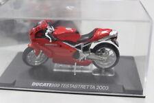 Modellino Moto Ducati 999 Testastretta 2003 1/24