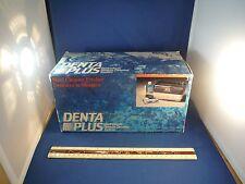 New Denta Plus Electrosonic Denture Cleaning System NIB