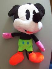 "Just Play Disney Stuffed Plush 16"" Big Head Mickey Mouse -- NEW"