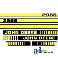 John Deere 2955 tractor decal set