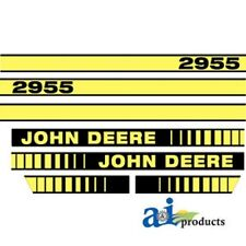 To fit John Deere 2955 tractor decal set