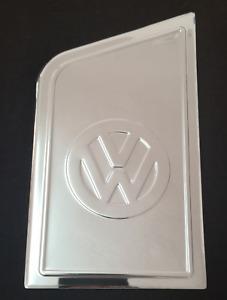 VW TRANSPORTER T5 2003-2015 Chrome Fuel Tank Deckel Flap Cover S.Steel