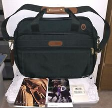 """Brookfield by Hartmann 16"""" Carry On Tote Bag, New with tag, Dark green/Brown"""