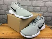 NIKE MENS UK 8 EU 42.5 FLEX EXPERIENCE RUN 9 GREY BLACK WHITE TRAINERS RRP £60 M
