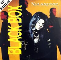 Black Box CD Single Not Anyone - France (VG+/VG+)
