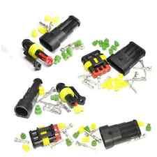 Superseal Conector eléctrico Kits - 1, 2, 3, 4, 5, 6 forma-Resistente Al Agua 12/24v