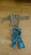 Action Man size clothes 2 Beige jumpers & 2 Pairs Khaki trousers