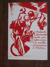 Vecchia foto cartolina d epoca di Festa Nazionale de L Unità Venezia 73 da per