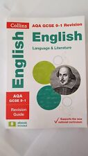 AQA GCSE 9-1 Revision English Language Literature Book