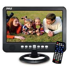 "10"" Portable TV Tuner Monitor Display Screen with Built-in Rechargeable Battery"