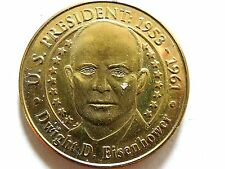 "Vintage 2000 Sunoco ""Dwight D. Eisenhower"" Presidential Series Coin"