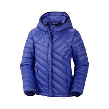 Columbia Girls' Powder Lite Puffer Winter Ski Jacket Coat - Purple (XS)