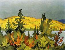 Tea Lake - A.J. Casson, Group of Seven - Canvas