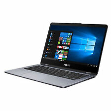 "ASUS VivoBook Flip 14 TP410UA 14"" (128 GB, Intel Core i3 7th Gen., 2.40 GHz, 4 GB) Notebook - Black - TP410UAEC231T"