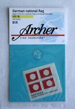 Archer 1/72 - 1/76 Nationalflagge German National Flag 1933-1945 WWII AR74003