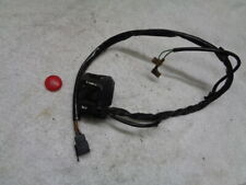 HONDA CBR1100 BLACKBIRD PART LEFT HAND SWITCH GEAR FOR SPARES PARTS ONLY
