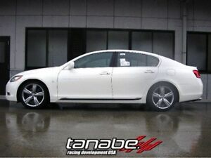 Tanabe JDM NF210 Lowering Springs For Lexus 06-07 GS300 GS430 RWD 08-11 GS350