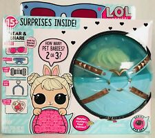 1 LOL Surprise Biggie Pets Wave 2 COTTONTAIL Q T Eye Spy Ball Doll Gift In Hand!