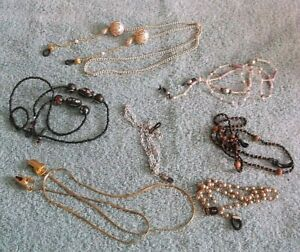 Lot Of 7 Eyeglass Holders/Chains