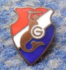 GWARDIA WARSZAWA POLEN POLAND FUSSBALL FOOTBALL  1960er EMAILLIERT ANSTECKNADEL